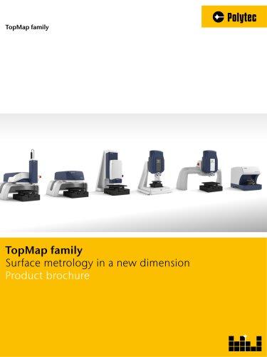 Brochure TopMap series | 3D surface metrology systems