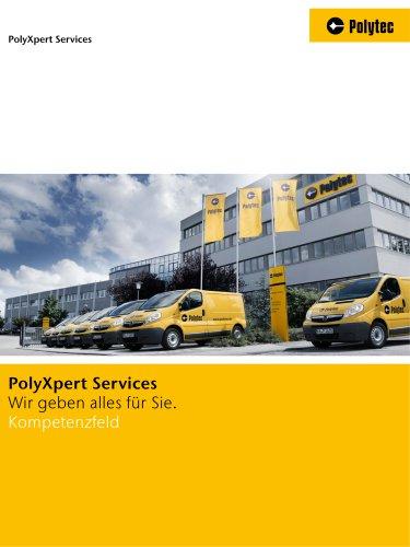 Broschüre PolyXpert Services
