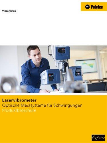 Vibrometer Überischtsbroschüre | Schwingungsmessung von mikro bis makro