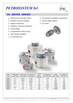 Oval Gear Flow meters