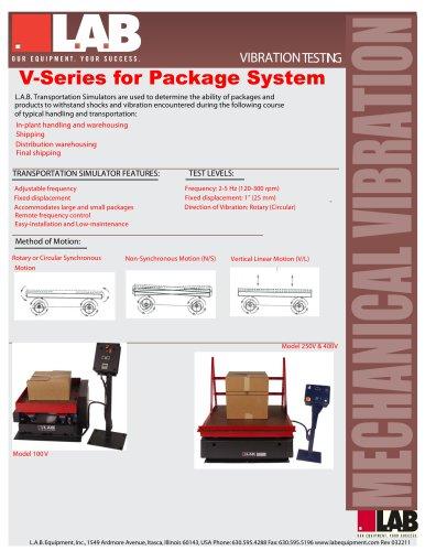 V - Series? Transportation Simulators