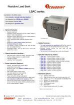 Load bank for generator sets