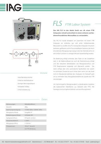 FLS FTIR-Labor System