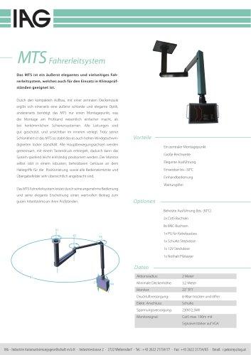 MTS-Monitorträgersystem