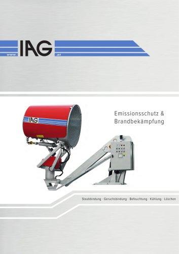 Staubbindung - Emissionsschutz - Brandbekämpfung