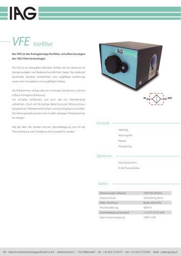 VFE-Vorfiltereinheit
