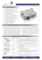 HPS Precision Inclinometer : Single Axis, RS232 & RS485 Output