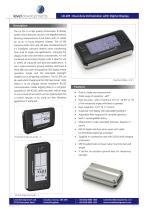 LD-2M : Dual Axis Inclinometer with Digital Display