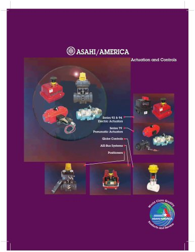 Asahi Actuation Catalog