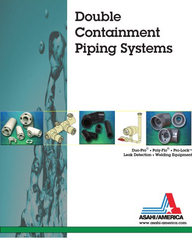 Double Containment Piping Brochure