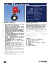 Series 10 Electric Actuator