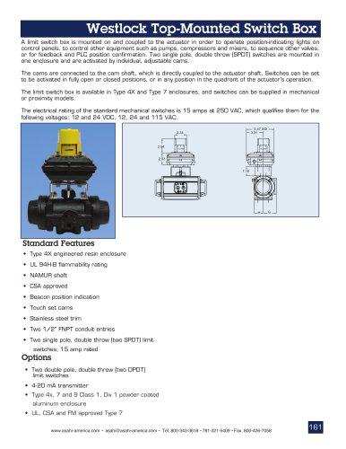 Westlock Limit Switchbox