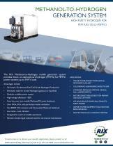 Methanol to Hydrogen Generation System