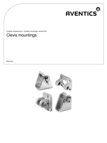 Clevis mountings