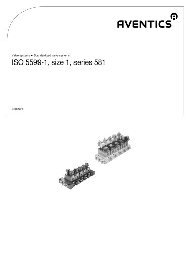 ISO 5599-1, size 1, series 581