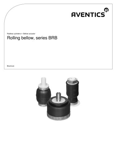 Rolling bellow, series BRB