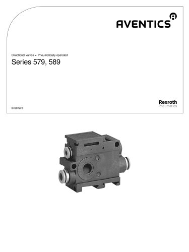 Series 579, 589 pneumatically operated