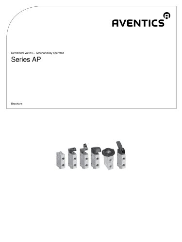 Series AP mechanically operated