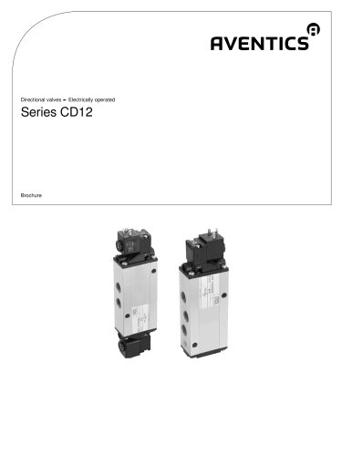 Series CD12 electrically operated