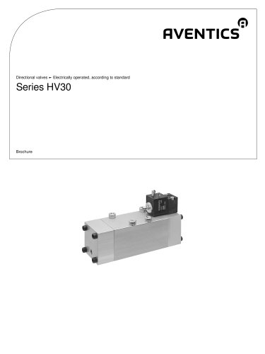 Series HV30 electrically operated