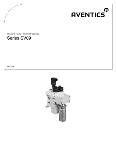Series SV09 electrically operated