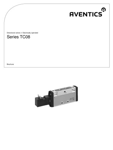 Series TC08 electrically operated