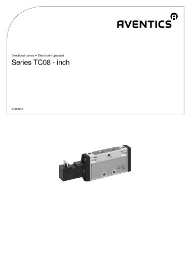 Series TC08-inch electrically operated