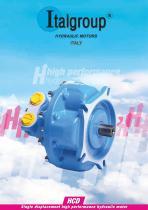 HCD series - Single displacement high performance hydraulic motor