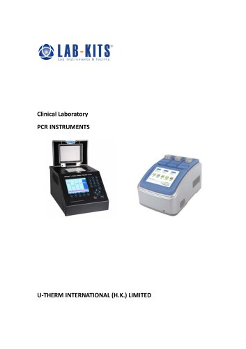 PCR INSTRUMENTS