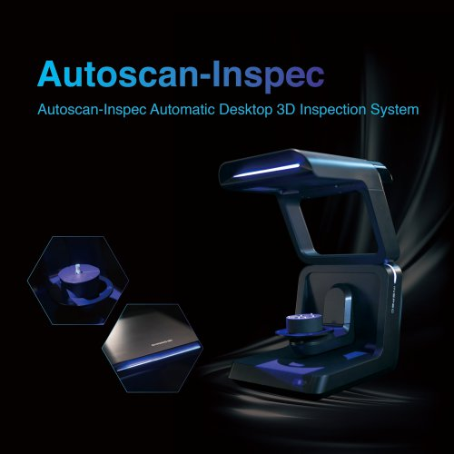AutoScan Inspec Fully Automatic Desktop 3D Inspection Scanner/SHINING 3D