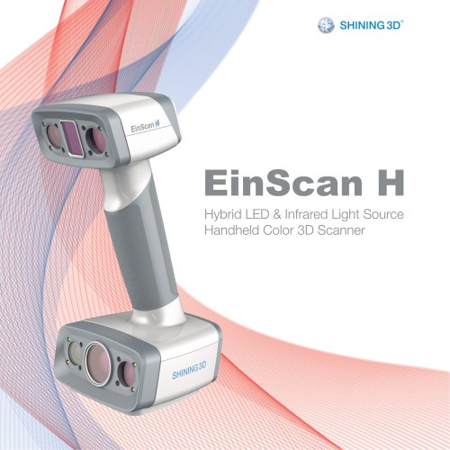 EinScan H Hybrid LED & Infrared Light Source Handheld Color 3D Scanner/SHINING 3D