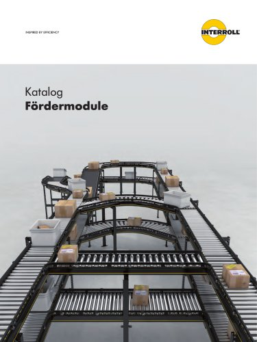 INTERROLL CONVEYOR MODULES CATALOG