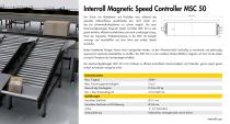 Magnetic Speed Controller MSC 50 - 2