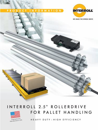 Roller Drive for Pallet Handling
