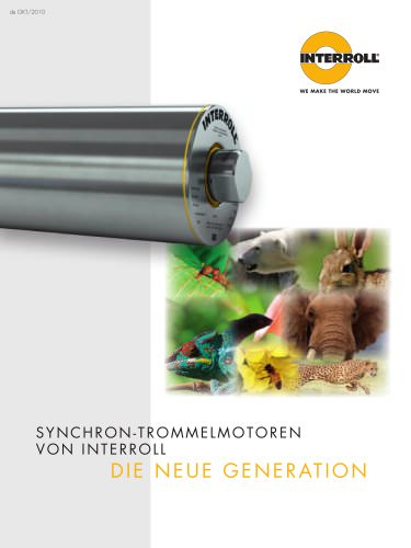 Synchronous Drum Motor