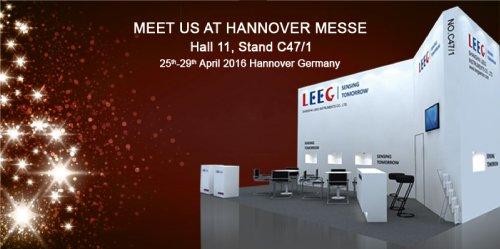 LEEG HANNOVER MESSE INVITATION  H11- C47/1