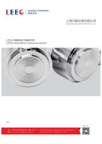 LEEG Instruments Pressure Sensors