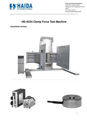 Clamp Force Test Machine
