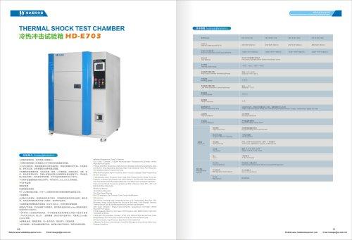 Environment Thermal Shock Chamber