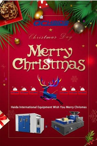 Haida International Equipment Wish You Merry Christmas