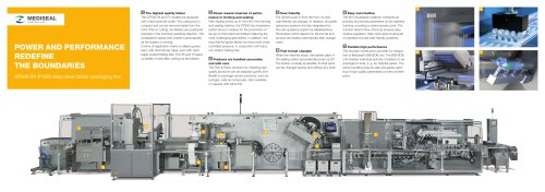 CP500 RX-P1600 deep-draw blister packaging line