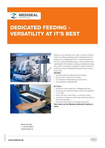 Dedicated Feeding Solutions