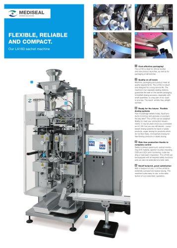 LA160 sachet machine