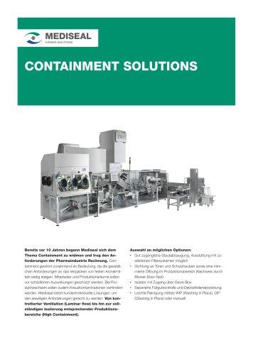 Mediseal Containment Lösungen