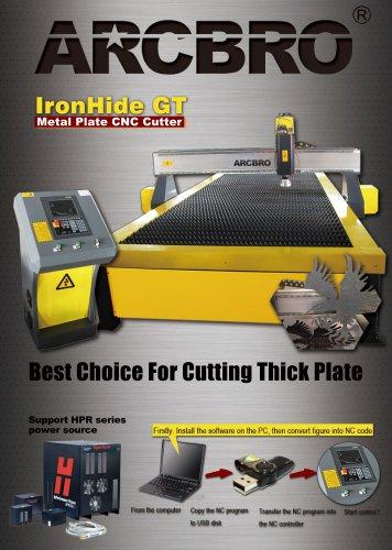 IronHide GT heavy duty table CNC plasma cutting machine