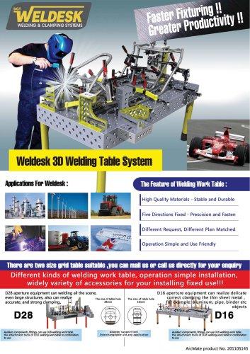 Weldesk Welding Table
