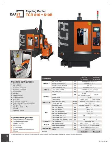 TCR 510 • 510B