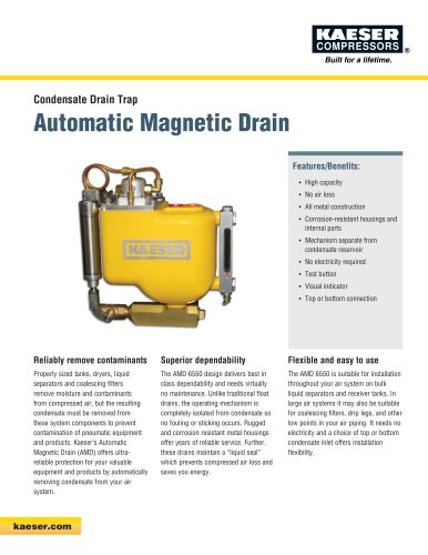 Automatic Magnetic Drain