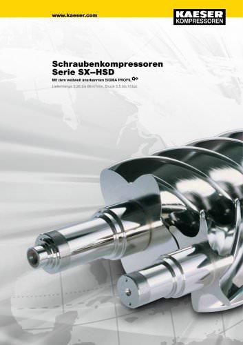 Gesamtkatalog Schraubenkompressoren Serie