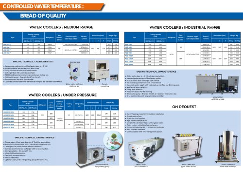AGD chiller 350 to 650 P